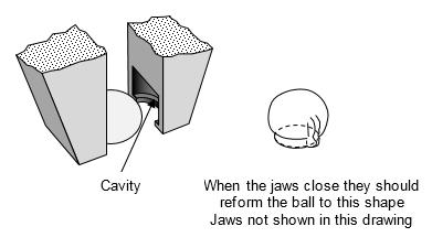 CBP closing jaws reform solder ball