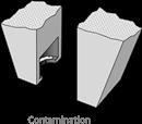 Cavity clean contamination 1a