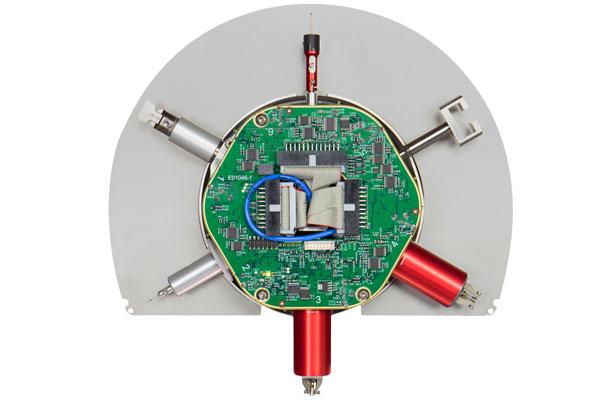 Revolving measurement unit