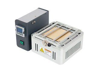 Heated work holder 100x100cm