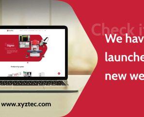Launch new xyztec website